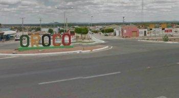 Entrada do município de Orocó, no Sertão.