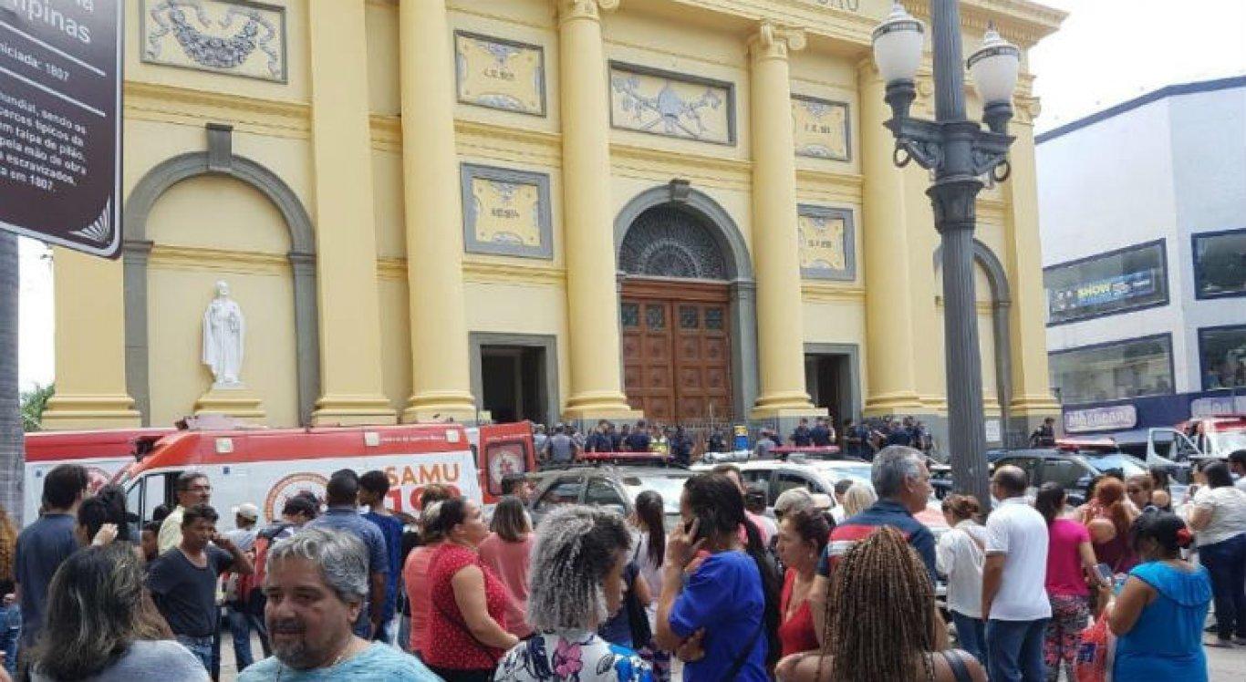 Temer e Bolsonaro lamentam tragédia em Catedral de Campinas