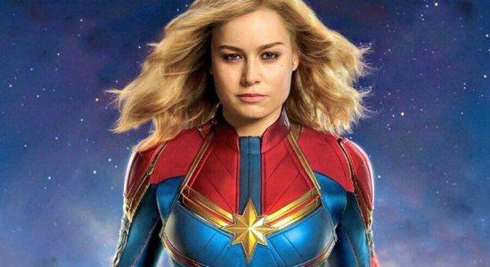 Capitã Marvel, aguardada estreia para 2019, foi um dos destaques do programa.