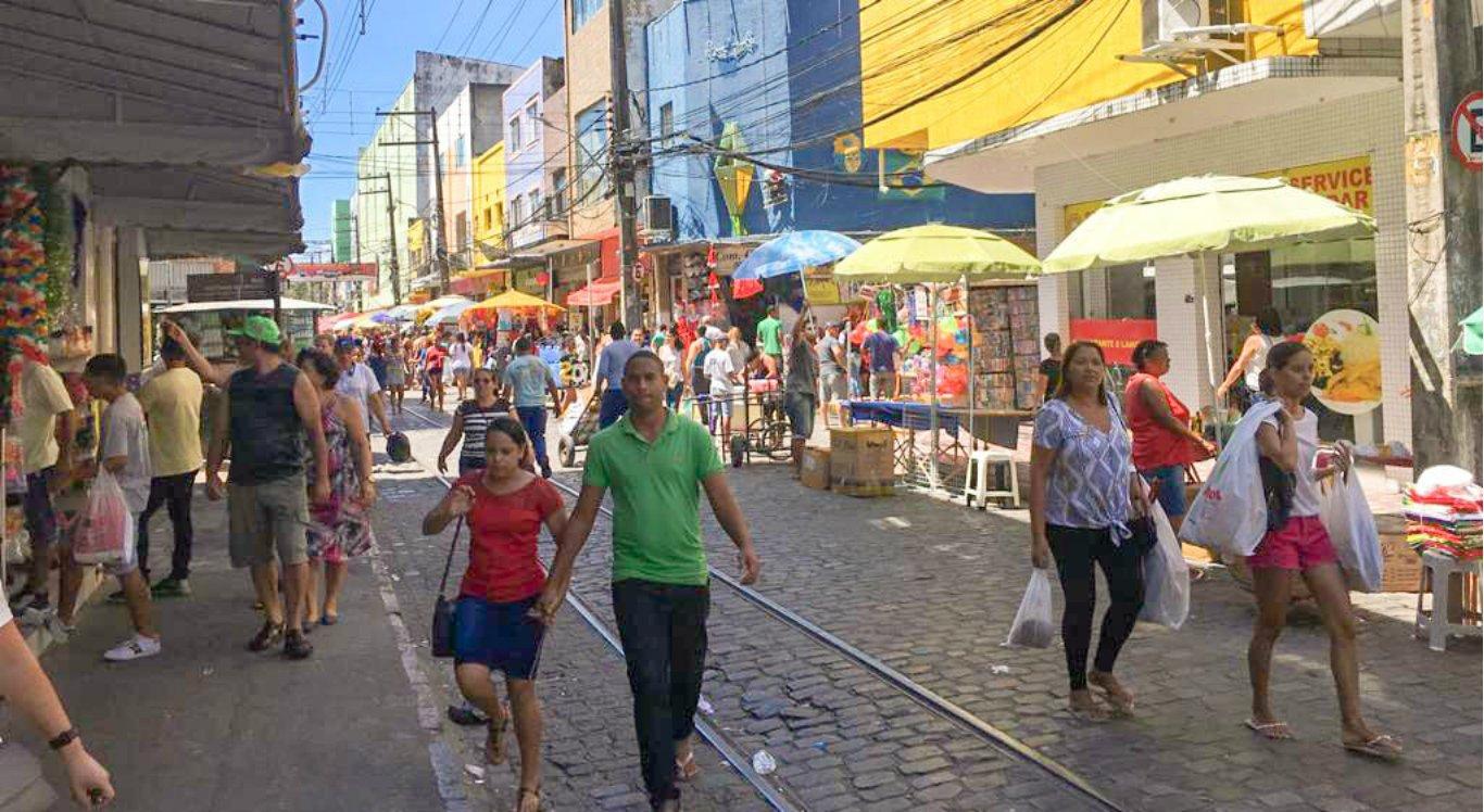 Loja assaltada no Centro do Recife ressalta clima de insegurança na área