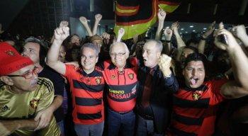 Milton Bivar foi eleito presidente do Sport em eleição realizada nesta terça-feira (18)