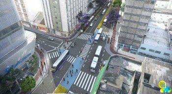 Maior parte das pessoas que transita pela Conde da Boa Vista usa o transporte coletivo