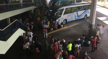 Fluxo de passageiros no TIP aumenta com a chegada das festas de final de ano