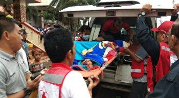 Mais de 800 pessoas ficaram feridas no Tsunami da Indonésia