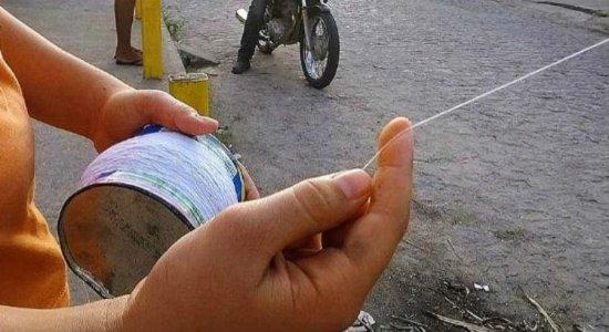Confira dicas para prevenir acidentes com linhas de cerol
