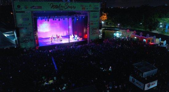 Público lota Parque Santana e Marco Zero na noite de Natal