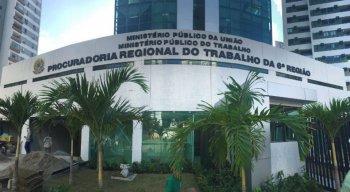 Sede do MPT-PE fica no bairro do Espinheiro, na Zona Norte do Recife