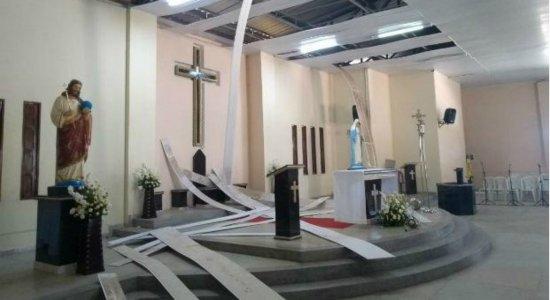 Igreja católica é alvo de arrombamento no Agreste