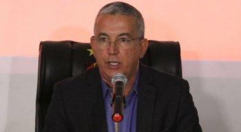 O presidente do Sport, Arnaldo Barros