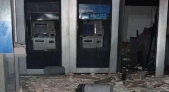 Agência bancária é alvo de explosão em Escada, na Mata Sul