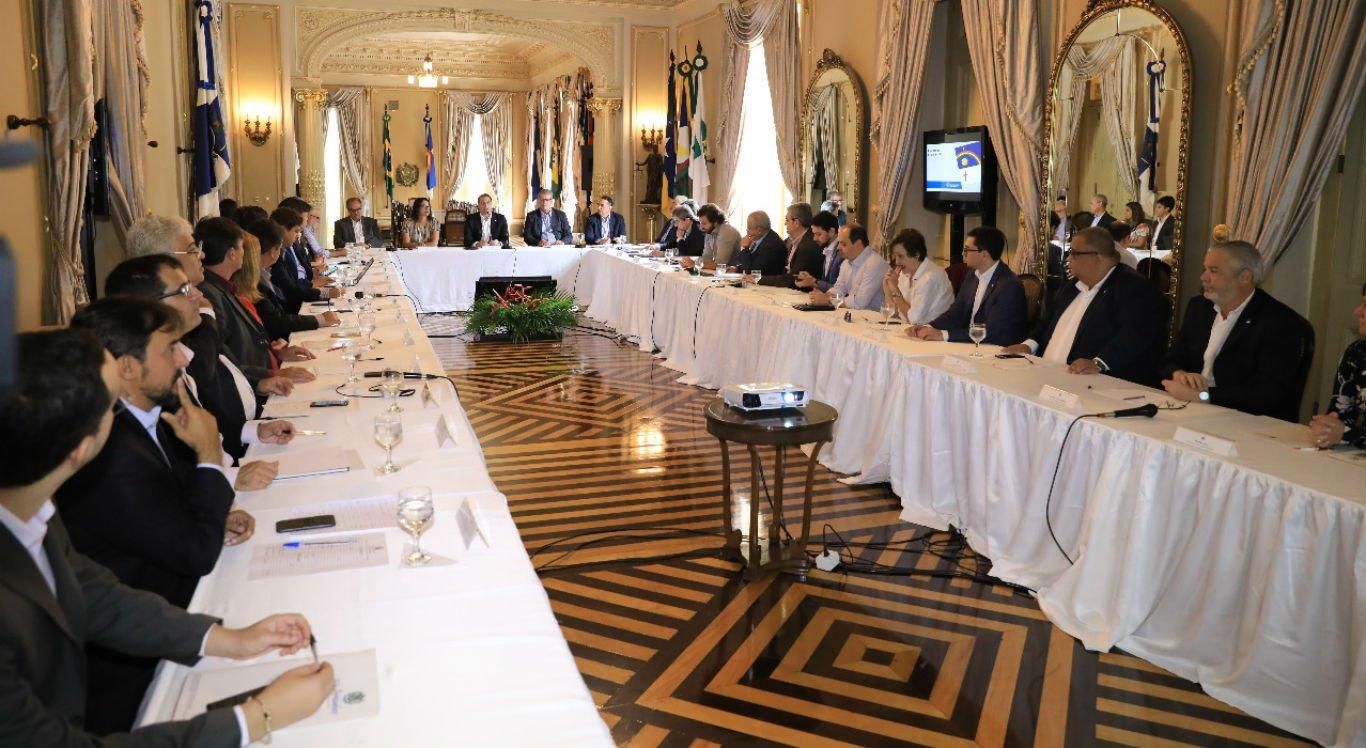 Novos secretários se reúnem para conhecer política pública de segurança