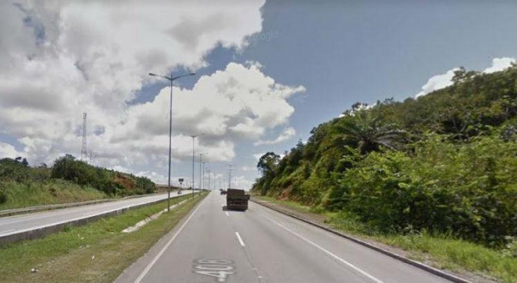 Acidente ocorreu no Km 95 da BR 408