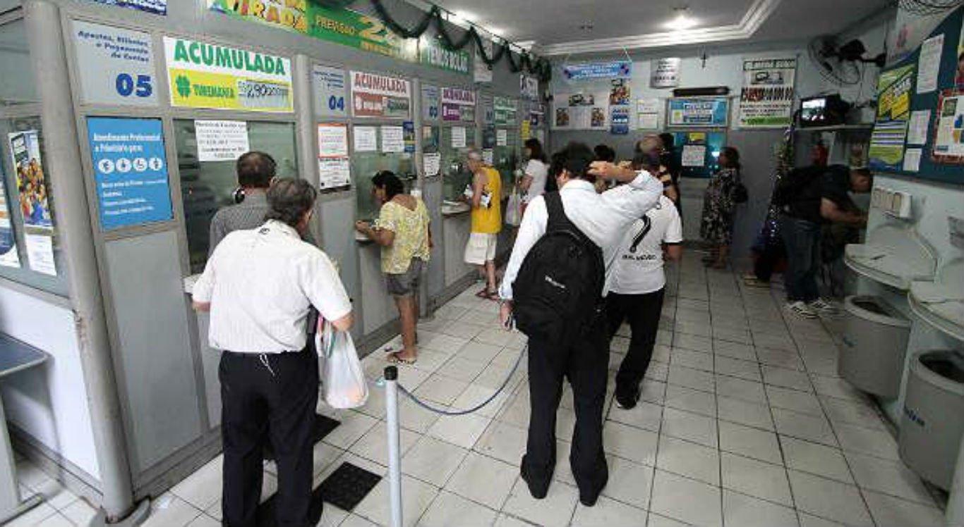 O assalto à lotérica está sendo investigado pela polícia
