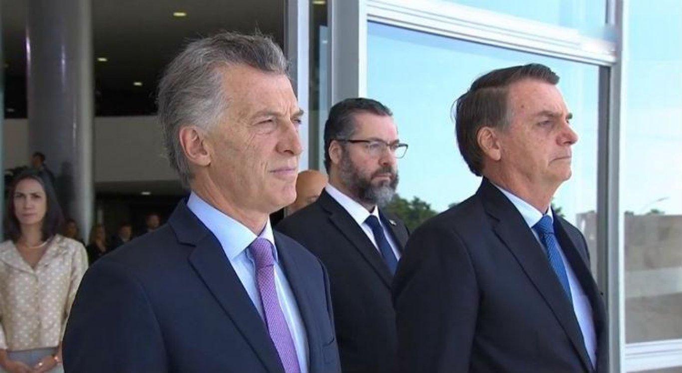 Macri: viagem ao Brasil é começo de salto para a frente no Mercosul