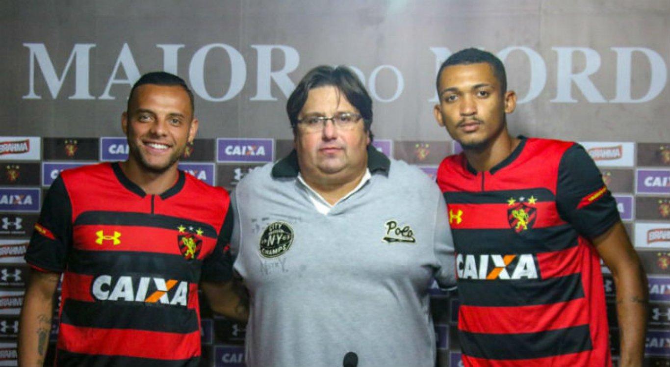 Apresentados, Walber e Guilherme querem fazer história no Sport