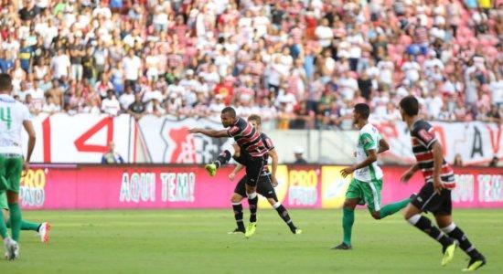 Com dois gols de Vitão, Santa Cruz domina e goleia o América