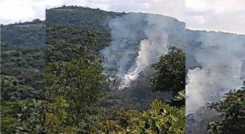 Incêndio atingiu pelo menos dois hectares de área da Reserva Serra dos Cavalos