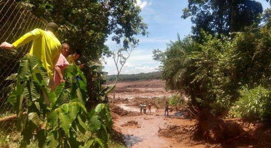 Barragem de rejeitos se rompe em Brumadinho, em Minas Gerais