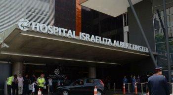 Bolsonaro está internado no Hospital Albert Einstein