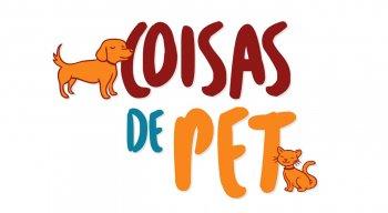 Logo do programa Coisas de Pet