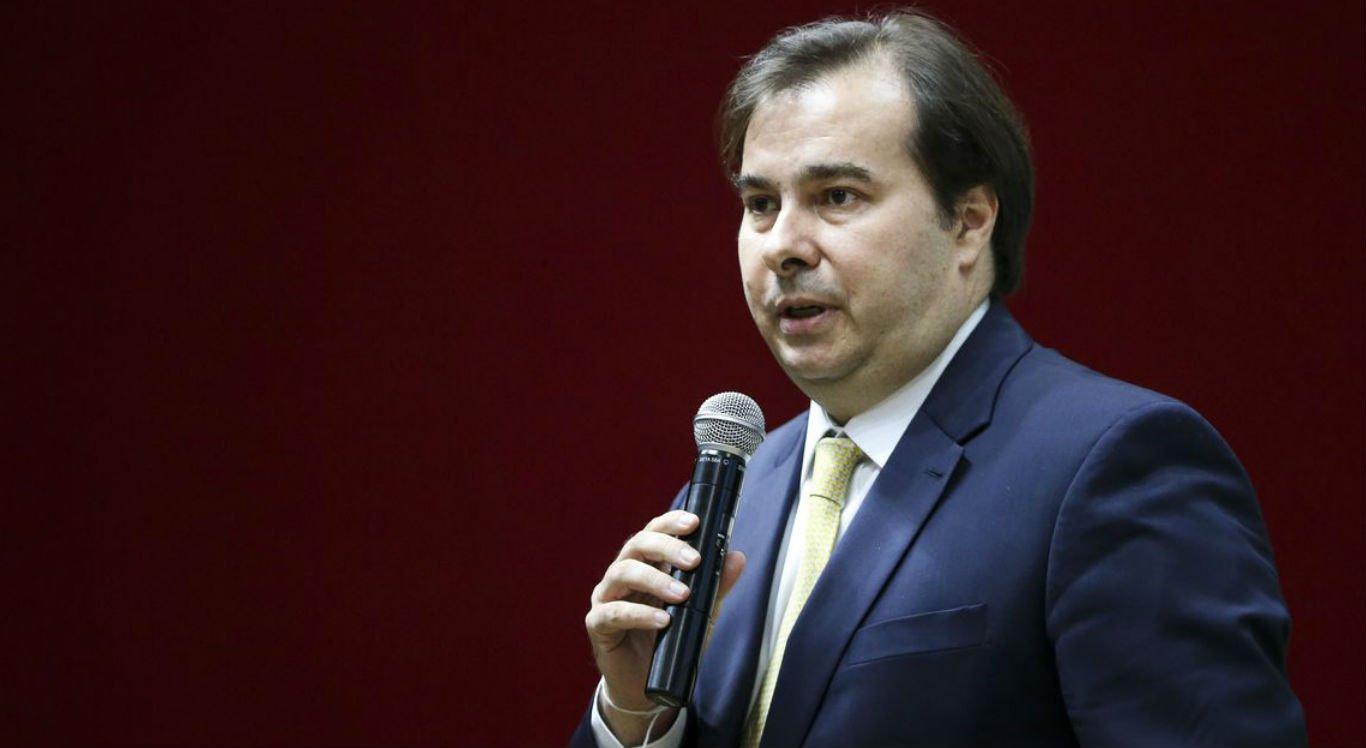 Rodrigo Maia fala aos deputados eleitos para a 56ª Legislatura