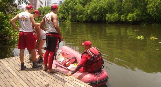 Família de jovem desaparecido no Rio Capibaribe quer imagens de câmeras do local