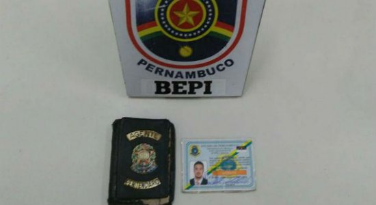 Falso sargento da PM é preso em Santa Cruz do Capibaribe