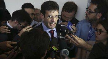 Marcelo Álvaro Antônio (PSL-MG) afirmou que a exoneração do cargo de ministro do Turismo é temporária