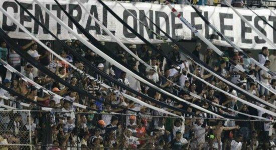 Lacerdão não terá torcidas organizadas no confronto entre Central e Ceará