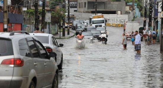 Previsão é de mais chuvas em Pernambuco nesta quarta-feira