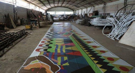 Decoração do carnaval do Recife começará a ser montada segunda-feira