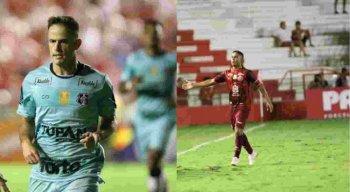 Pipico e Jorge Henrique, jogadores mais experientes de cada elenco, marcaram gols no clássico.