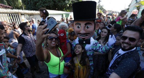 Calunguinha na Folia faz a festa das crianças em Olinda