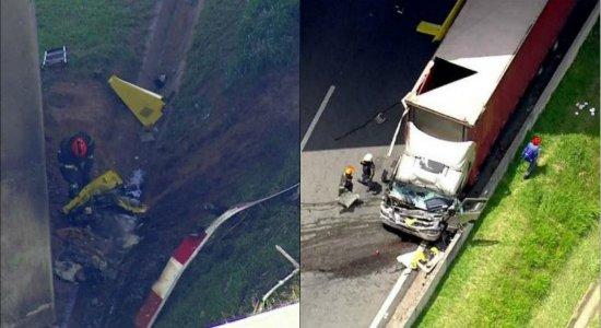 FAB abre investigação sobre queda de helicóptero que matou Ricardo Boechat