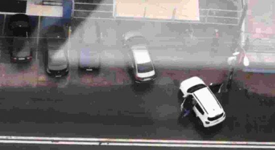 Suspeito de assalto a carro-forte foi preso no Pina