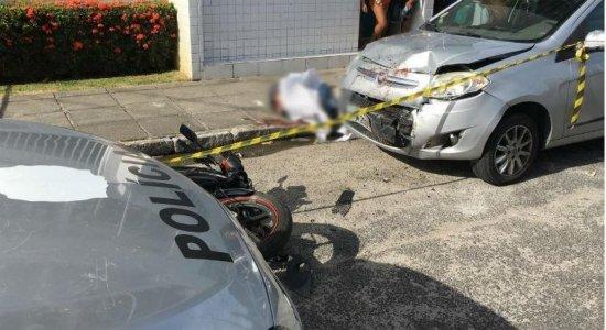 Polícia investiga assassinato de um motociclista na Ilha do Retiro