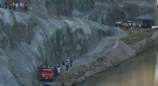 Trabalhadores da transposição morrem em acidente de carro em Sertânia