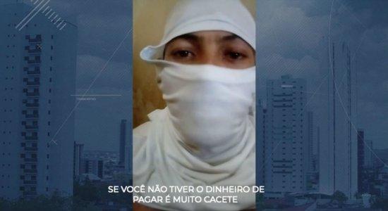 Em vídeo, detentos ameaçam fazer rebelião em suposto presídio de PE
