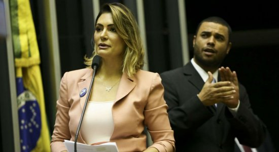 Michelle Bolsonaro pede atenção especial a pacientes com doenças raras