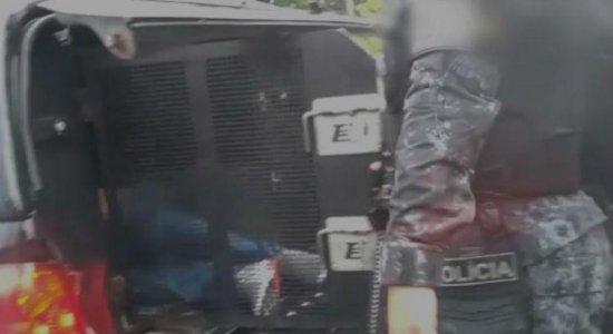Suspeito de matar segurança em assalto a carro-forte no Pina é preso