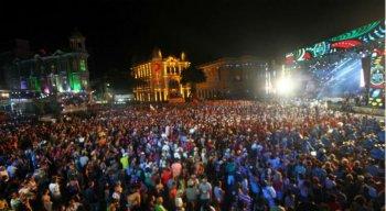 A cerimônia de abertura foi batizada como O Carnaval de Todo Mundo