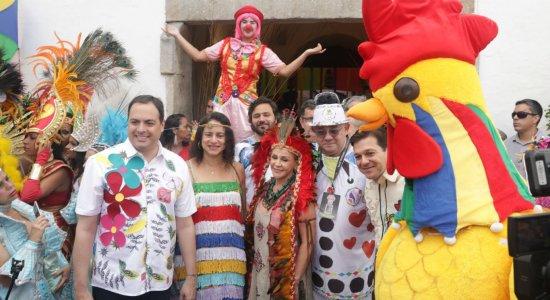 Vamos fazer de novo o melhor carnaval do Brasil, diz governador
