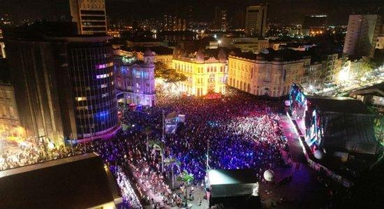 Confira a agenda de shows do Marco Zero nesta segunda do carnaval 2020