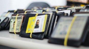Maioria dos documentos perdidos é de Identidade e Carteira Nacional de Habilitação (CNH)