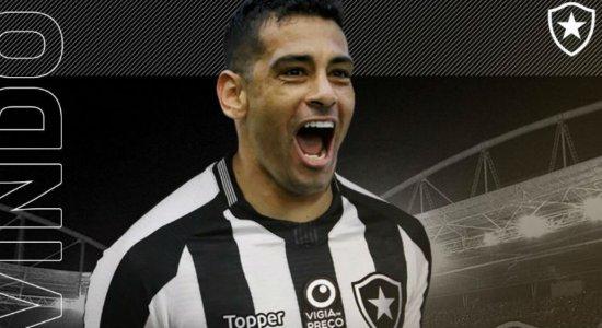 Diego Souza é anunciado como reforço do Botafogo-RJ