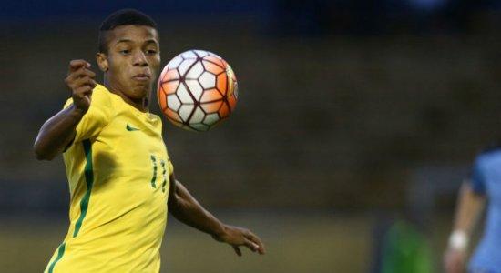 Seleção Brasileira convoca David Neres para o lugar de Vinicius Jr
