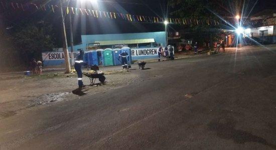 Garis recolhem quase duas toneladas de lixos em Paulista