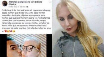 Post atribuído ao agressor gerou revolta na redes sociais