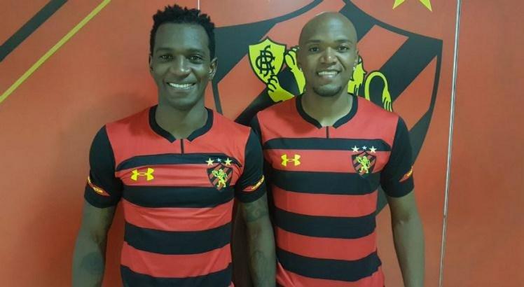Hyuri e Renato Oliveira já treinam com o elenco rubro-negro desde o inicio da semana.