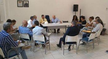 Reunião sobre o Holiday acontece na Cúria, no bairro das Graças
